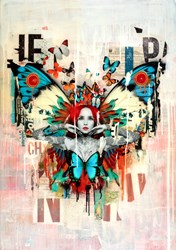 Freedom by Matt Herring - Original sized 33x47 inches. Available from Whitewall Galleries